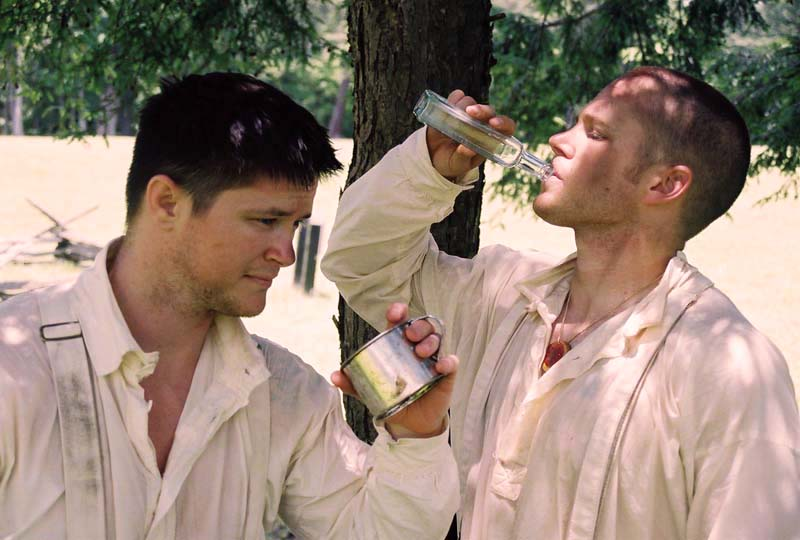 Taking a Swig - David Michael Plowman and Blaine Moore