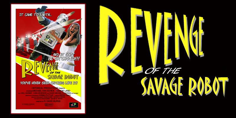 The Revenge of the Savage Robot - A Sci-Fi Adventure